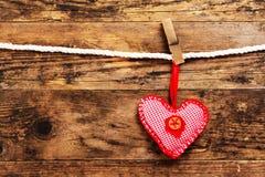 Fond de jour de valentines avec des symboles de coeur. Photographie stock