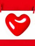 Fond de jour de valentines avec l'espace de copie pour le texte de salutation. Rouge Photos stock