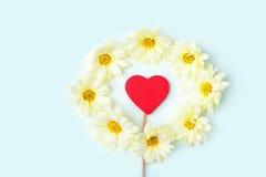 Fond de jour de valentines avec le coeur. Image libre de droits