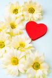 Fond de jour de valentines avec le coeur. Images stock