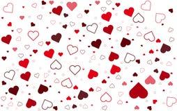 Fond de jour de valentines coloré Photographie stock libre de droits