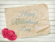 Fond de jour de valentines ENV 10 Photographie stock