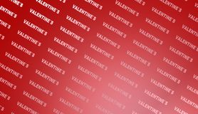 Fond de jour de valentines, illustration Photographie stock libre de droits