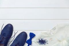 Fond de jour du mariage - vêtements et accessoires Image libre de droits