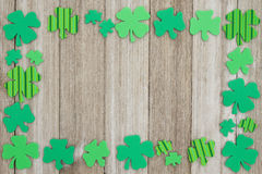 Fond de jour du ` s de St Patrick Image libre de droits