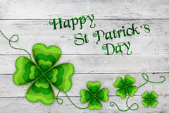Fond de jour du ` s de St Patrick images libres de droits