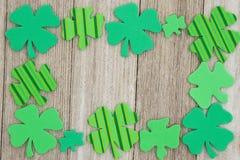 Fond de jour du ` s de St Patrick Photos stock