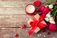 Fond de jour du ` s de Valentine Photographie stock