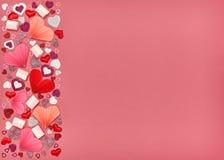 Fond de jour du ` s de Valentine Images stock