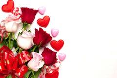 Fond de jour du ` s de Valentine Image libre de droits