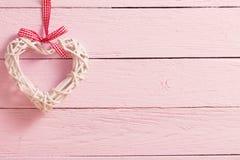 Fond de jour du `s de Valentine avec des coeurs photographie stock