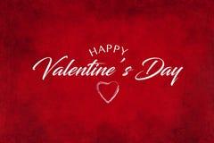 Fond de jour du ` s de Valentine avec la salutation photos libres de droits