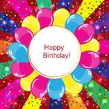 Fond de joyeux anniversaire illustration libre de droits