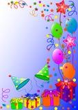 Fond de joyeux anniversaire Images libres de droits