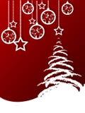 Fond de Joyeux Noël Images stock