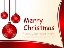 Fond de Joyeux Noël Illustration Libre de Droits
