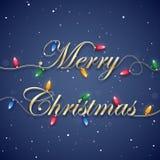 Fond de Joyeux Noël Photographie stock