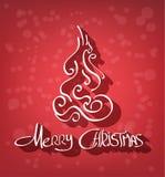 Fond de Joyeux Noël Image libre de droits
