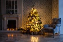 Fond de Joyeux Noël et de nouvelle année photo stock