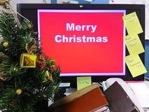 Fond de Joyeux Noël, vacances, fond Images libres de droits