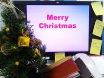Fond de Joyeux Noël, vacances, fond Photos libres de droits