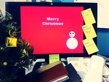 Fond de Joyeux Noël, vacances, fond Images stock