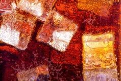 Fond de kola avec de la glace Photo libre de droits