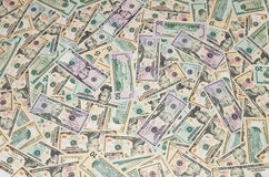 Fond de l'argent Photo libre de droits