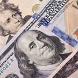 Fond de l'argent (fin de billet d'un dollar) Image libre de droits