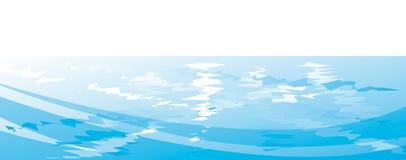 Fond de l'eau Images libres de droits