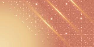 Fond de l'espace infini de vecteur Matrix de rougeoyer se tient le premier rôle avec l'illusion de la profondeur et de la perspec illustration libre de droits
