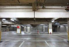 L'espace vide dans un parking Photographie stock libre de droits