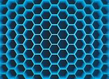 fond de l'hexagone 3D illustration de vecteur