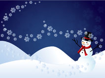 Fond de l'hiver Image libre de droits