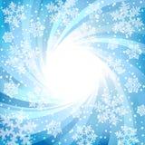 Fond de l'hiver Photo stock