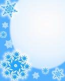 Fond de l'hiver Photographie stock libre de droits
