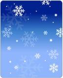 Fond de l'hiver illustration de vecteur