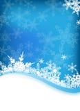 Fond de l'hiver de vecteur Photos libres de droits