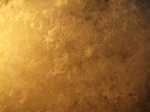 Fond de l'hiver, instruction-macro Image stock