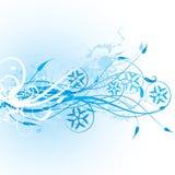 Fond de l'hiver, vecteur illustration libre de droits