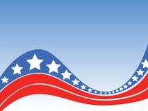 Fond de l'indépendance des Etats-Unis Image stock