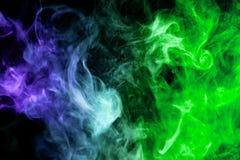 Fond de la fumée du vape photographie stock libre de droits