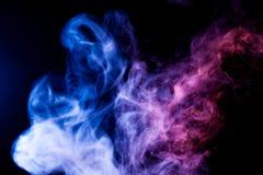 Fond de la fumée du vape photos libres de droits