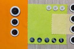 Fond de la matière de boutons Image libre de droits