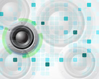 Fond de la musique Eps10 Image stock