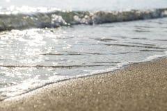 Fond de la plage sand Photographie stock