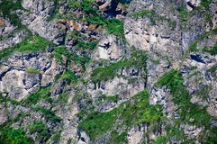 Fond de la roche Photo libre de droits