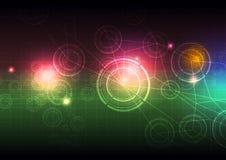 Fond de la science abstraite illustration libre de droits