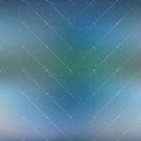 Fond de la science et technologie Grille abstraite avec des lignes de connexion Illustration de vecteur