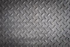 Fond de la surface de la plaque d'acier images libres de droits